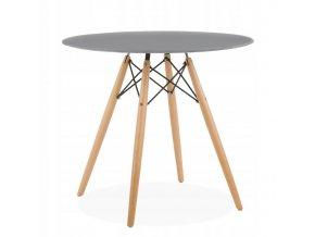 Okrúhly stôl ANELLO Grey 80 cm