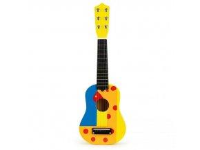Detská drevená gitara Yellow Giraffe