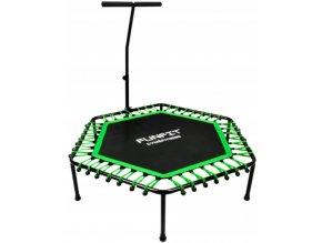 fitness trampolina 130cm green(1)