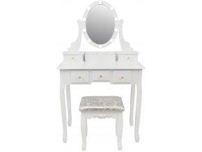 pol pl Toaletka kosmetyczna z lustrem LED i taboretem 2785 2 (1)