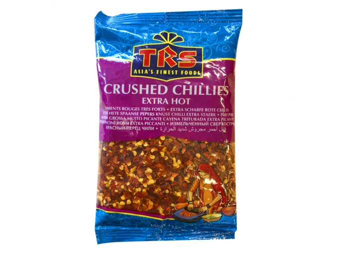 Trs crushed chillies 100g