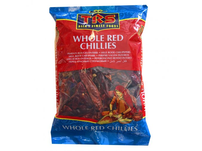 Trs whole red chillies
