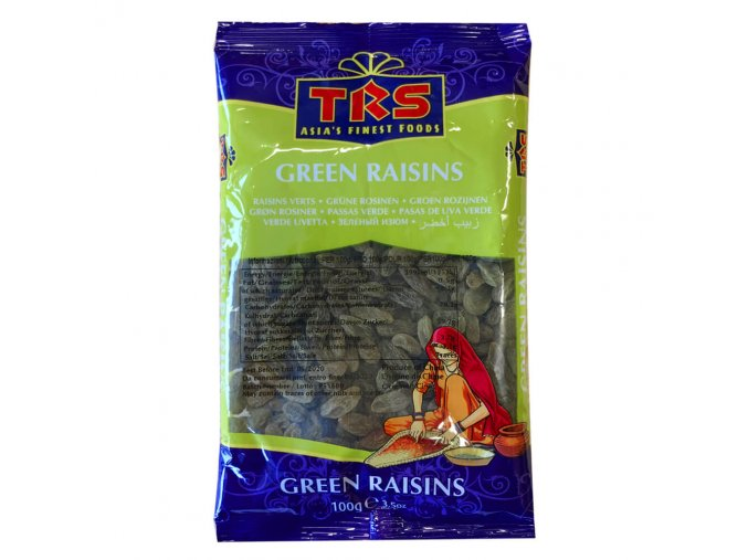 Trs green raisins 100g
