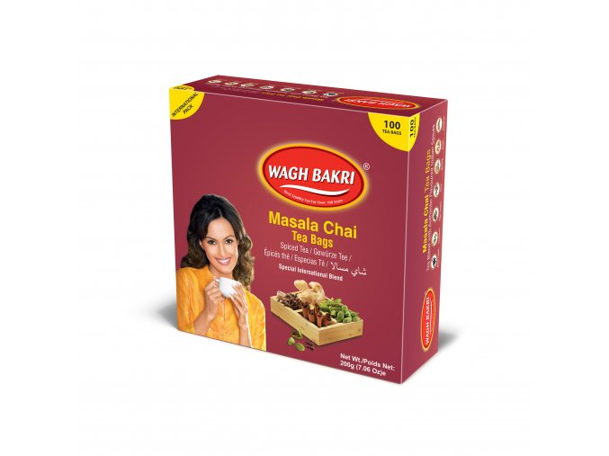 WB Masala 100 Tea Bag 1