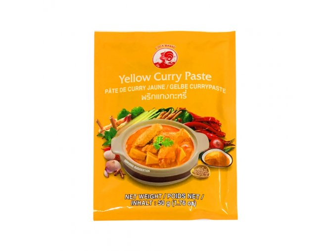 yellow curry paste cockbrand 50g