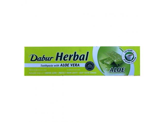 dabur herbal toothpaste with aloe vera