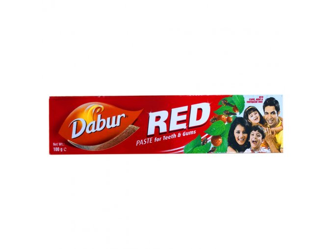 dabur red paste for teeth & gums 1