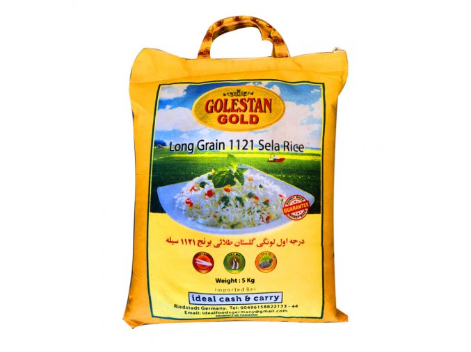Golestan gold rice 5kg