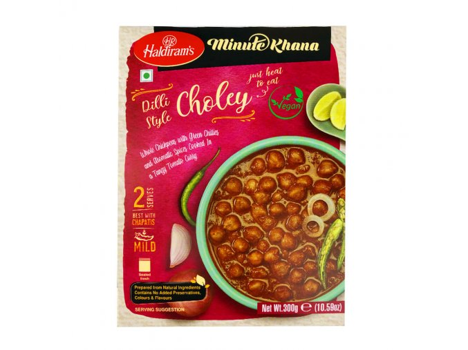 Haldirams Choley 300g