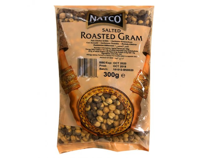 natco salted roasted gram