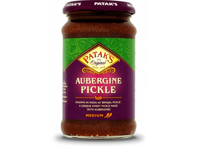 pataks aubergine pickle 312g