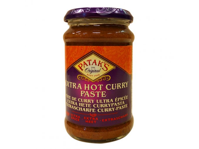 pataks extra hot curry paste