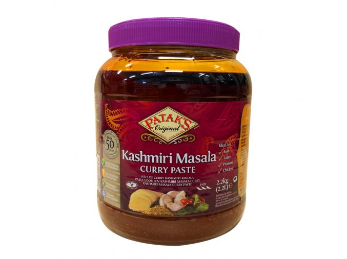pataks kashmiri masala curry paste 2.3kg