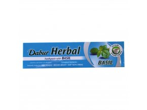 dabur herbal toothpaste with basil
