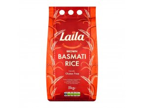Laila Brown Basmati Rice 5kg