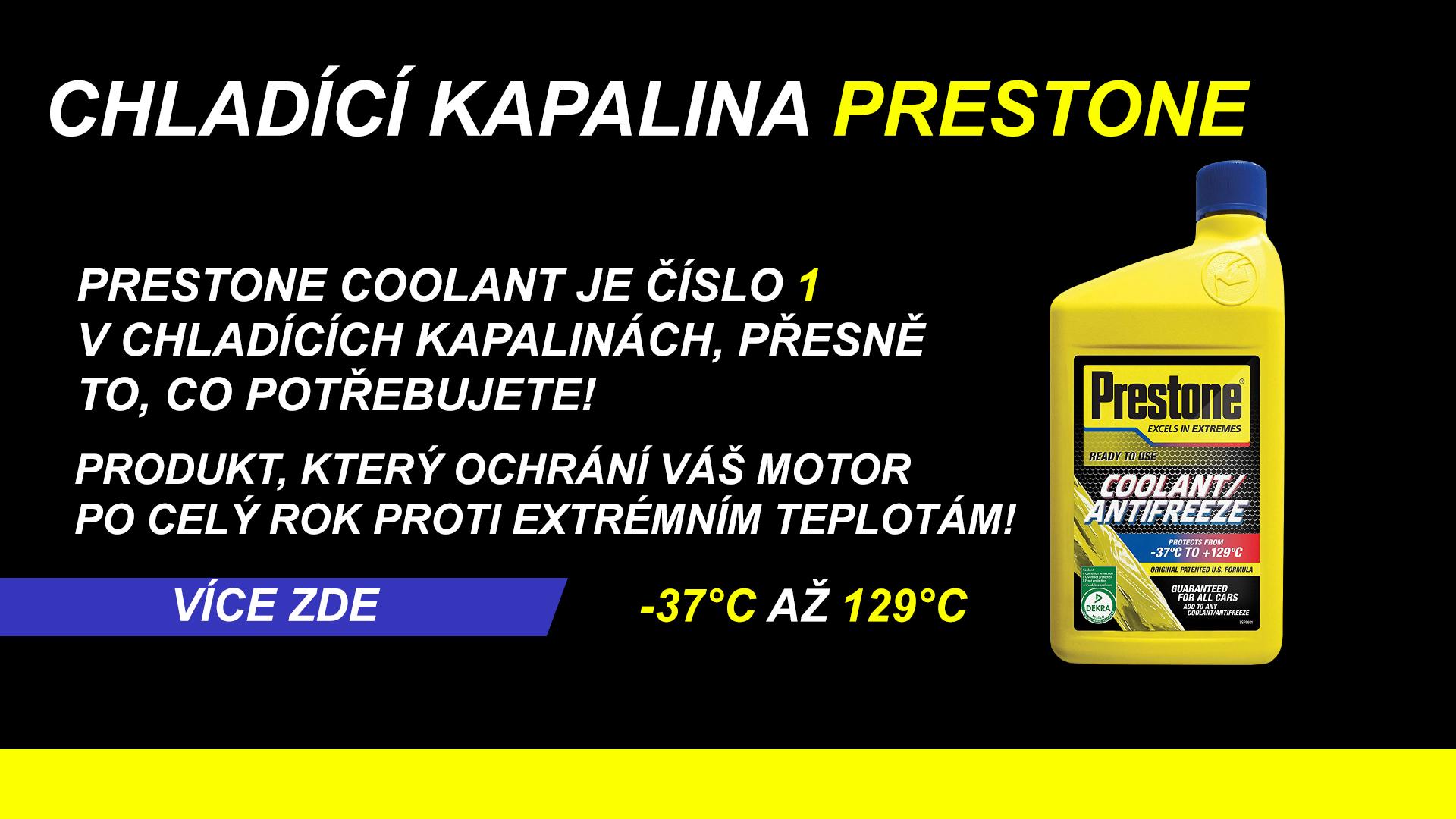 Prestone Coolant
