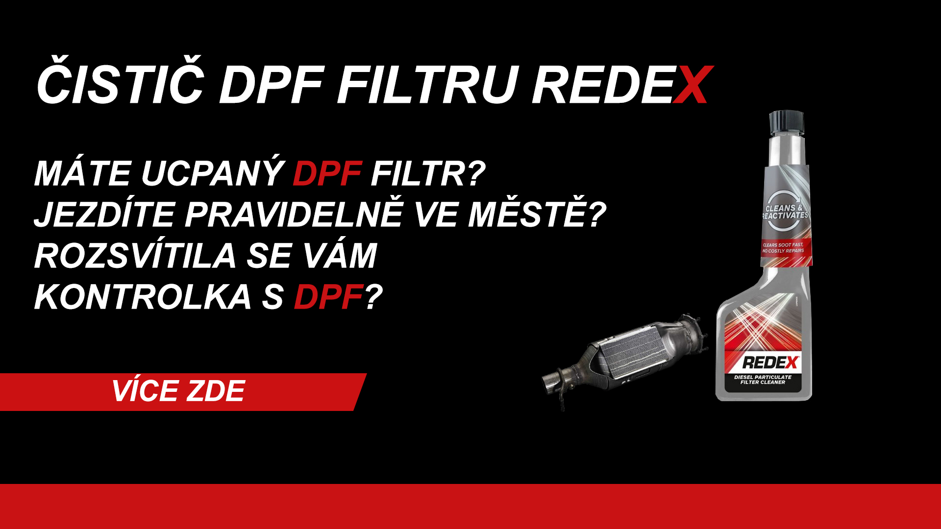 Čistič DPF filtru
