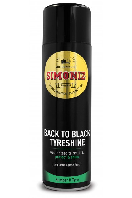 SAPP0074A Simoniz Back to Black Tyreshine
