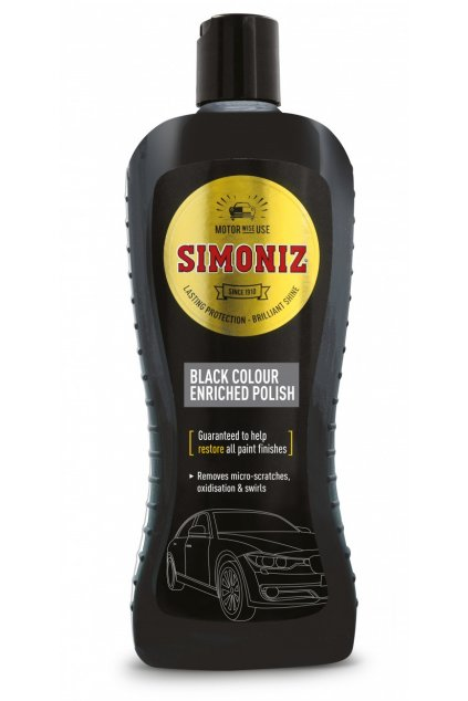 sapp0067a simoniz black colour polish 500ml
