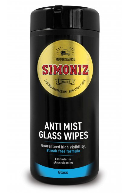 SWPS0012A Simoniz Anti Mist Glass Wipes