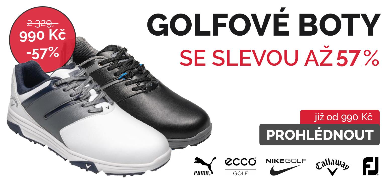 Golfové boty se slevou až 55%