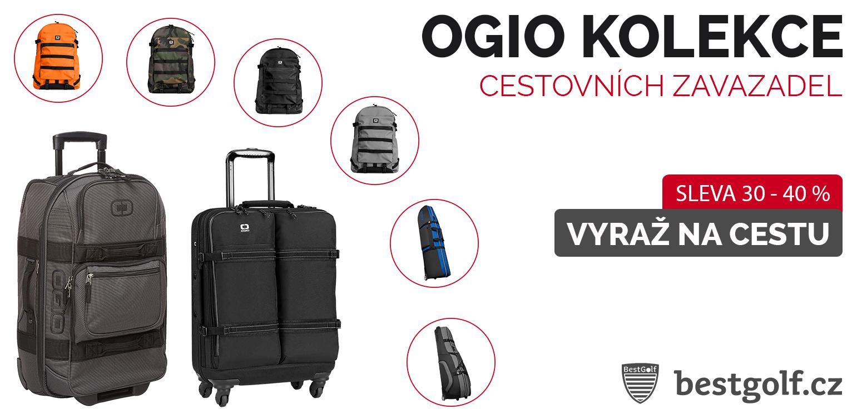 OGIO kolekce cestovních zavazadel