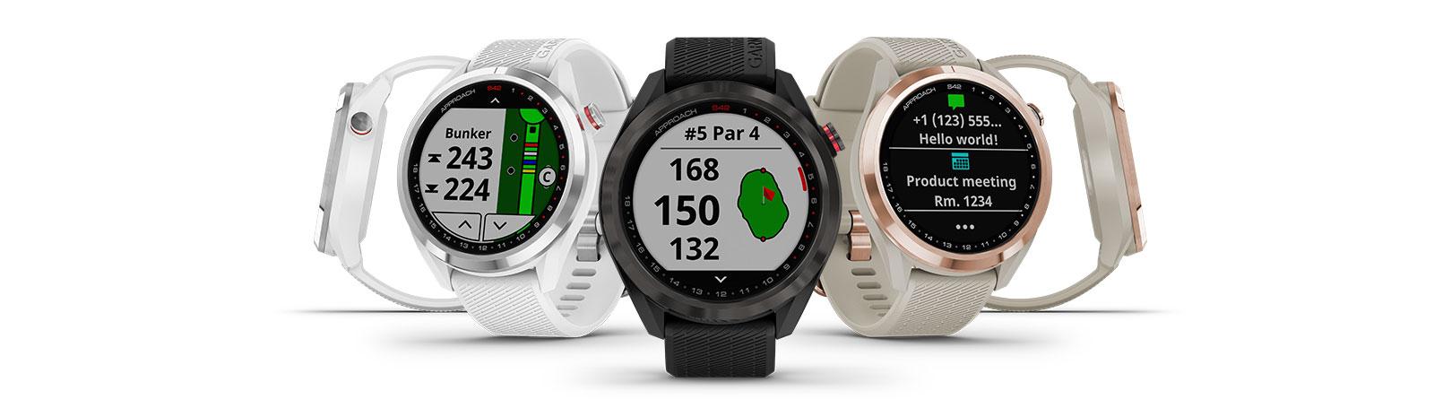 GARMIN golfové hodinky Approach S42 Black