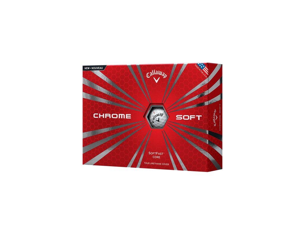 CALLAWAY golfové míčky Chrome Soft 16 (12 ks)
