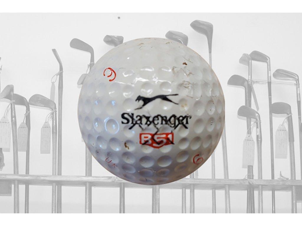 Historický golfový míček Slazenger