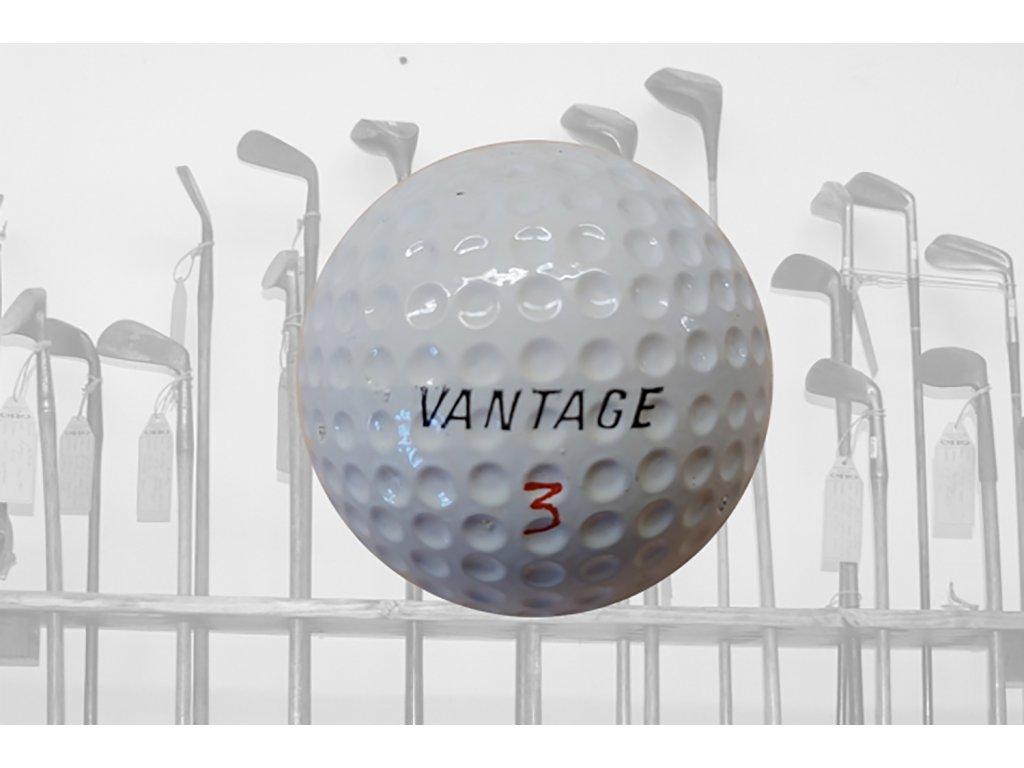 Historický golfový míček VANTAGE č. 3