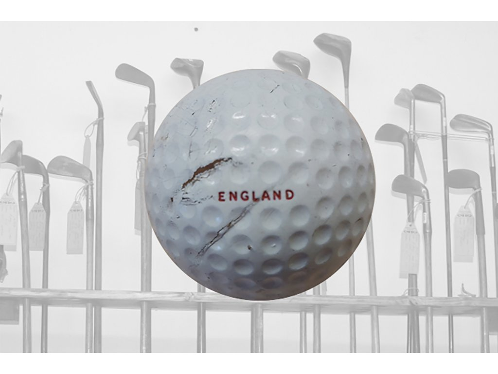 Historický golfový míček England