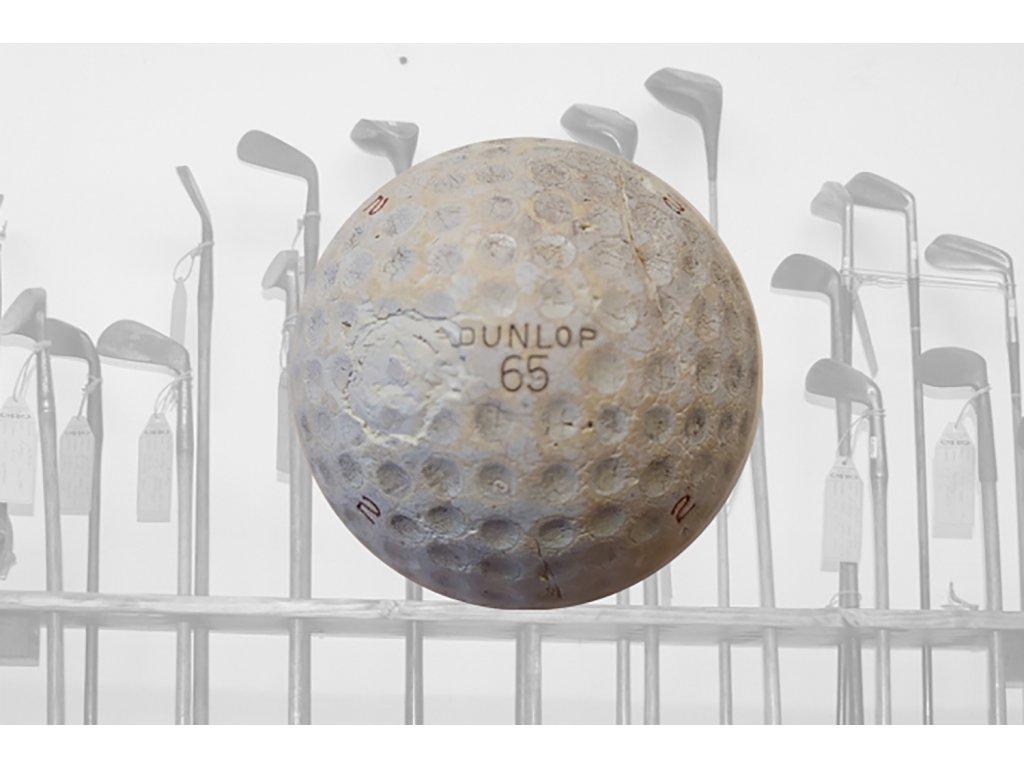 Historický golfový míček DUNLOP 65 č. 4