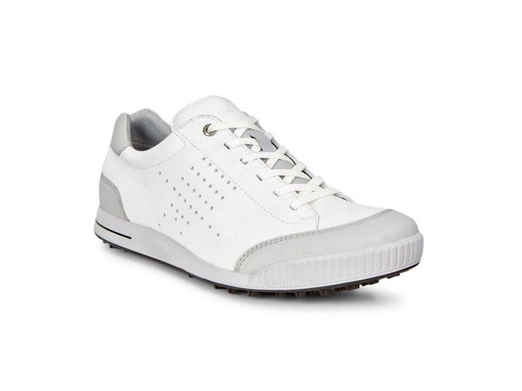 cfbc6b36566 ECCO Street Retro pánské golfové boty bílé