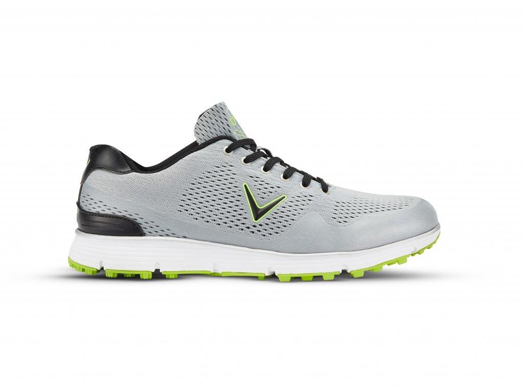 Callaway Chev Vent pánské golfové boty šedo-bílé