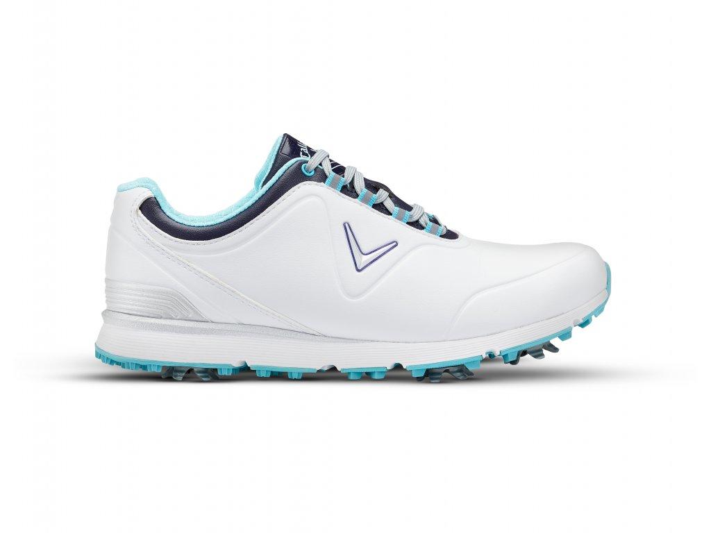 CALLAWAY dámské golfové boty W632-05 Mulligan bílo-modré 38 ffdb9b0a55