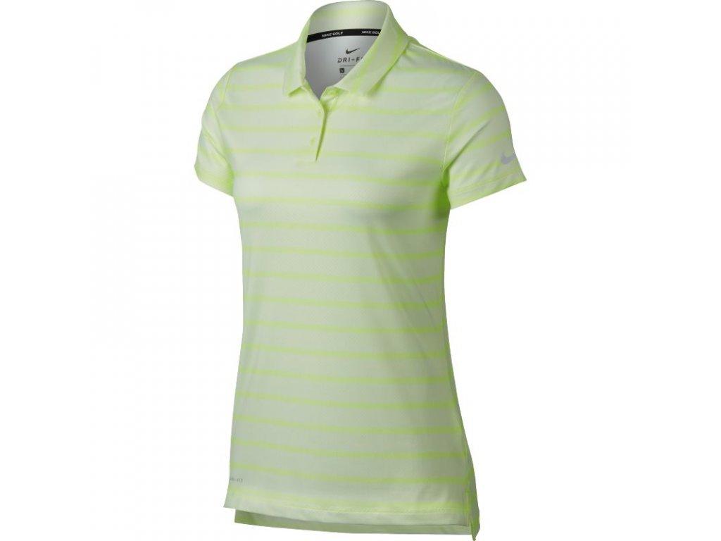 NIKE dámské tričko Dry žluté