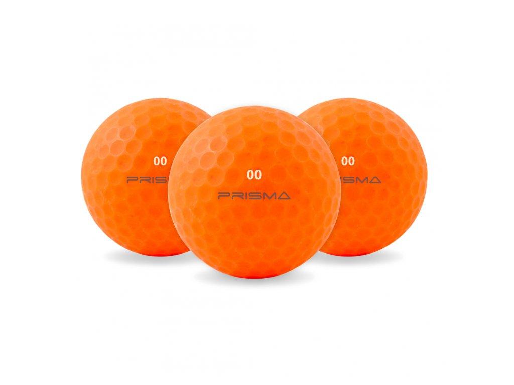 masters prisma golfbolde orange