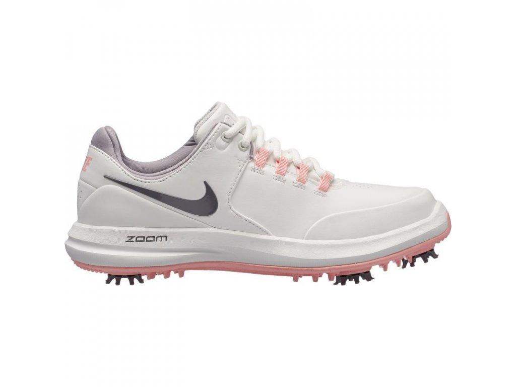 Nike Air Zoom Accurate dámské golfové boty bílo-růžové