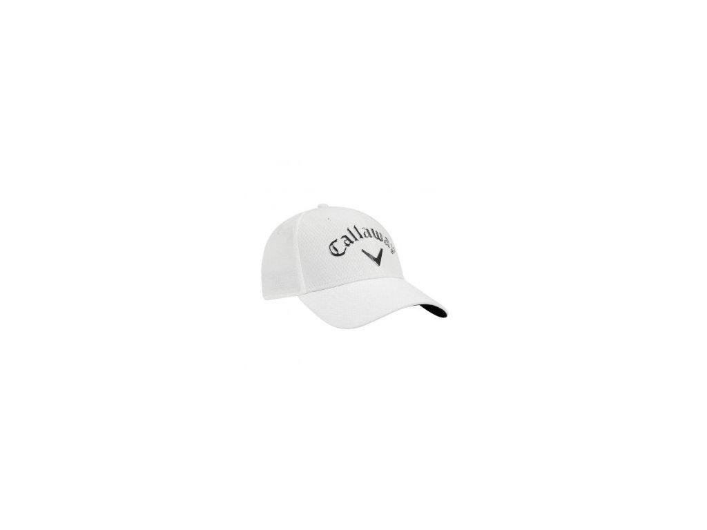 af9a7829f9c CALLAWAY pánská čepice Liquid Metal bílo-stříbrná