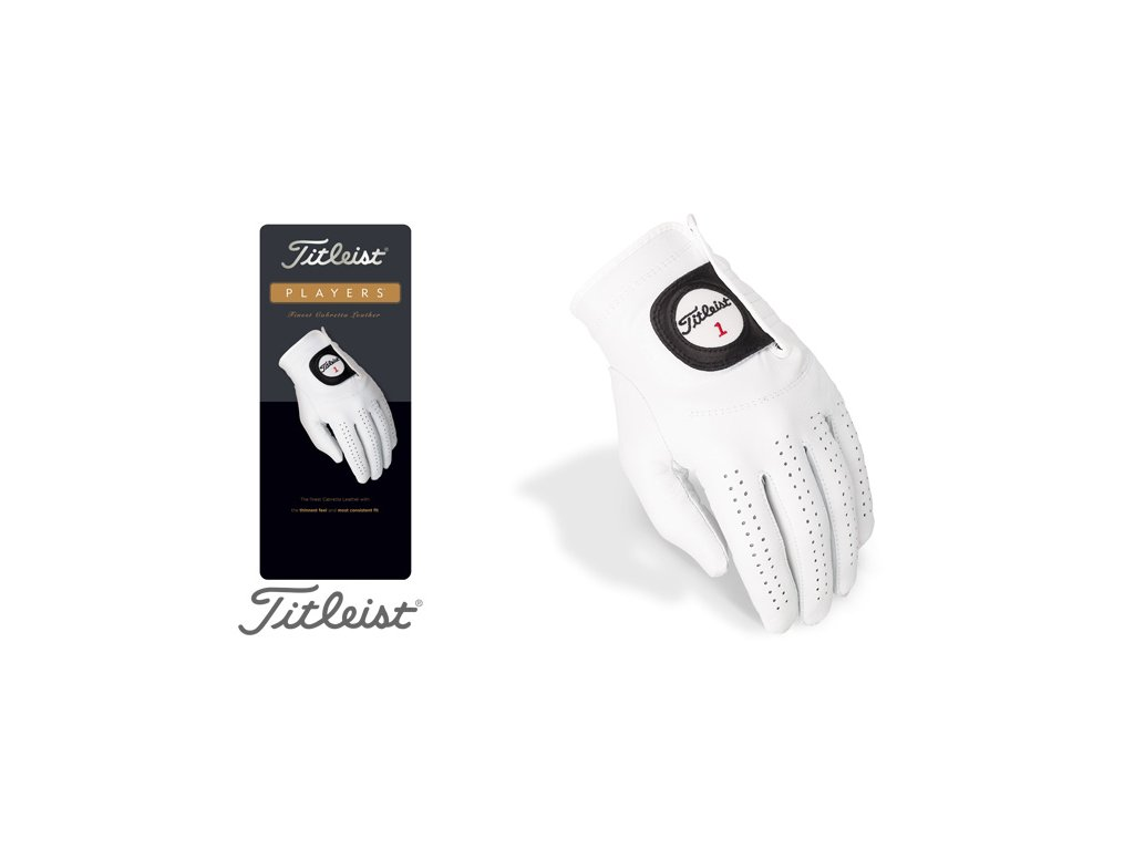 TITLEIST dámská rukavice Players (Velikost rukavic S)