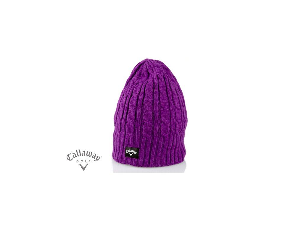 CALLAWAY zimní čepice fialová