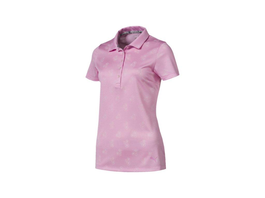 PUMA dámské tričko Burst Into Bloom růžové - Bestgolf.cz 2c0a95c12a