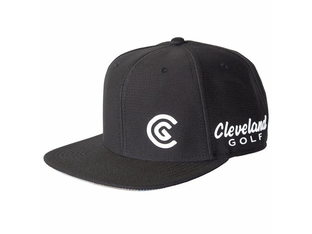 CLEVELAND FlatBill pánská golfová čepice Camo. Kód  12105072 CER. Novinka.  CG Flatbill Black 870x870 9da8f7fca8