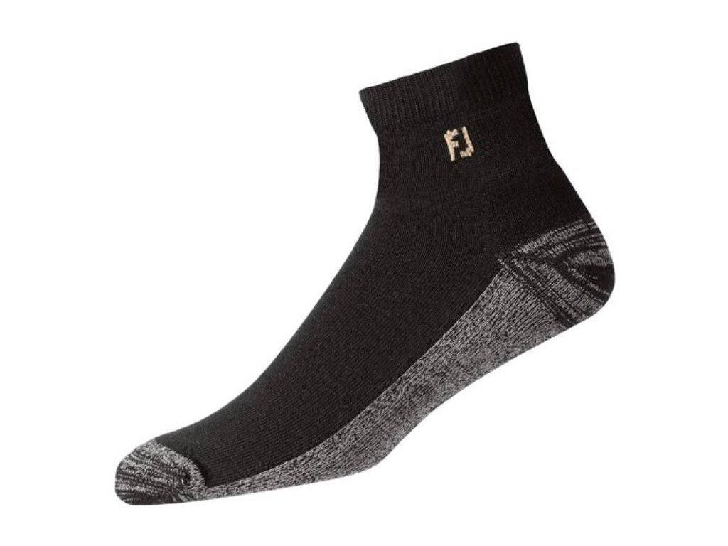 FOOTJOY pánské golfové ponožky ProDry Quarter černé