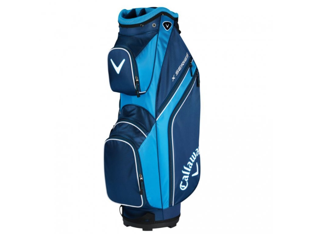 0055744 callaway x series golf cart bag 2019