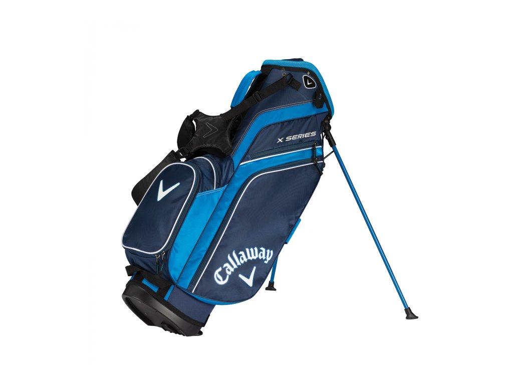 CALLAWAY X Series standbag modro-bílý