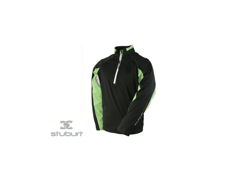 STUBURT bunda Sport Wind Shirt černo-zelené (Velikost oblečení M)