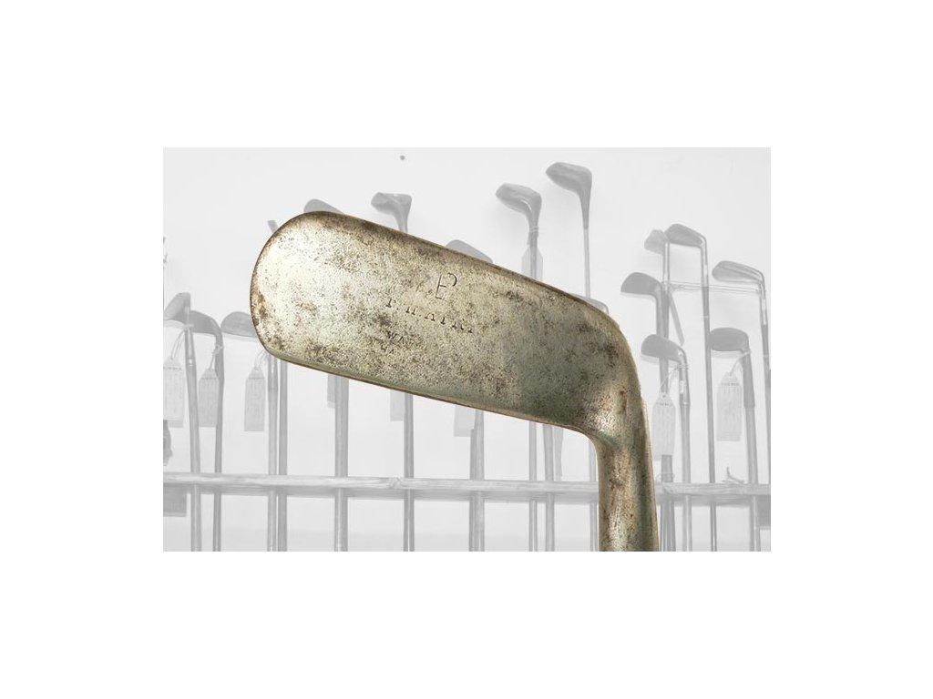T. HENRY historický golfový putter  + Certifikát původu