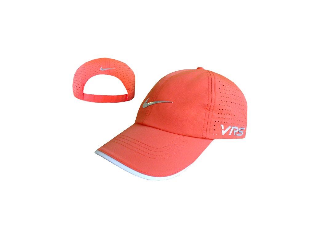 NIKE kšiltovka Tour Perforated Cap oranžová