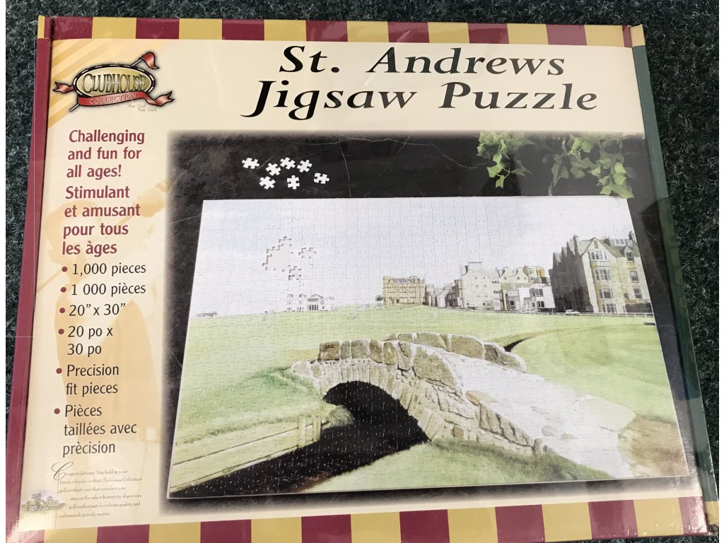 Clubhouse puzzle St Andrews
